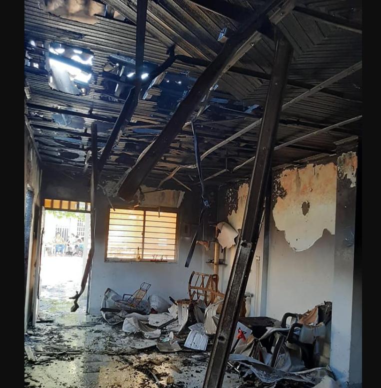 Incendio dejó a una familia en la calle en Barrancabermeja | EL FRENTE