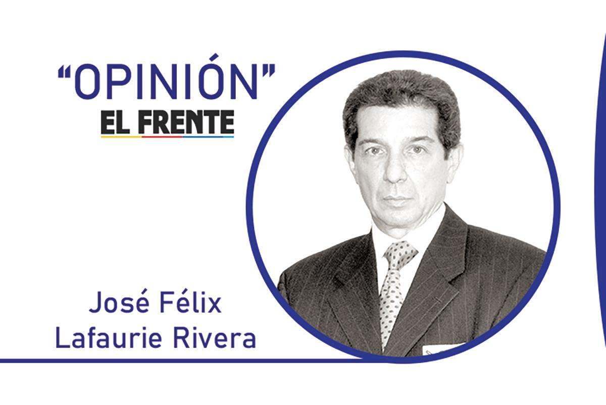 Inconsecuencia y mezquindad Por: José Félix Lafaurie Rivera   EL FRENTE