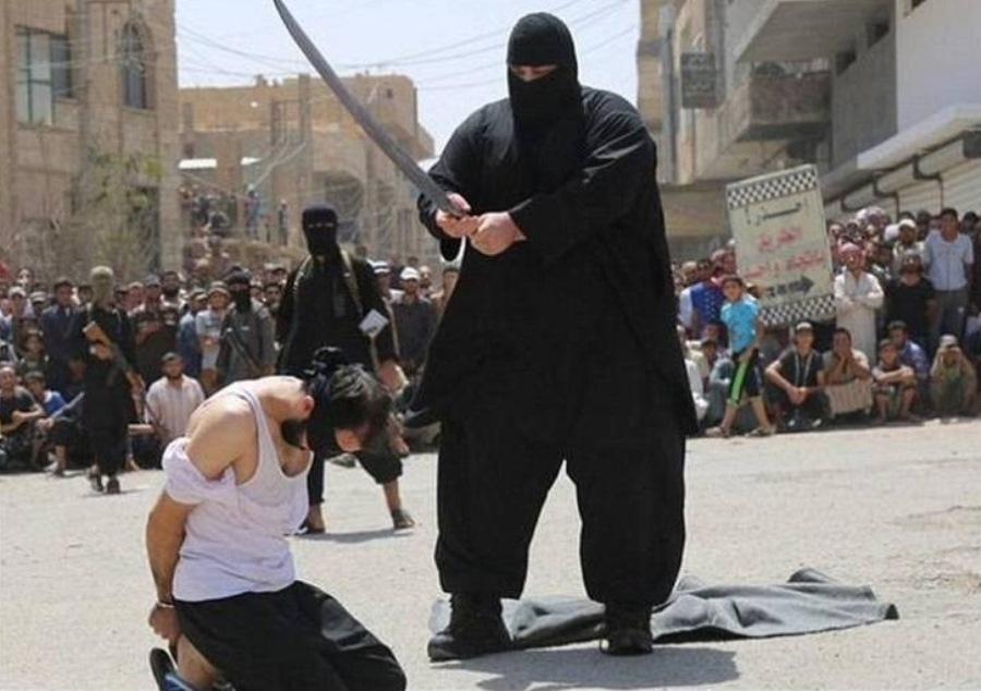 Condenado por terrorismo fue ejecutado con un sable | EL FRENTE