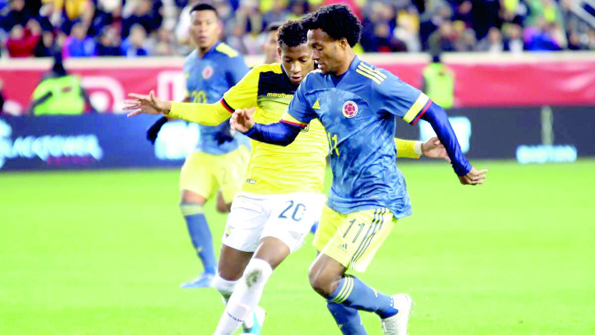 Colombia ante Ecuador en comienzo de Copa América | EL FRENTE