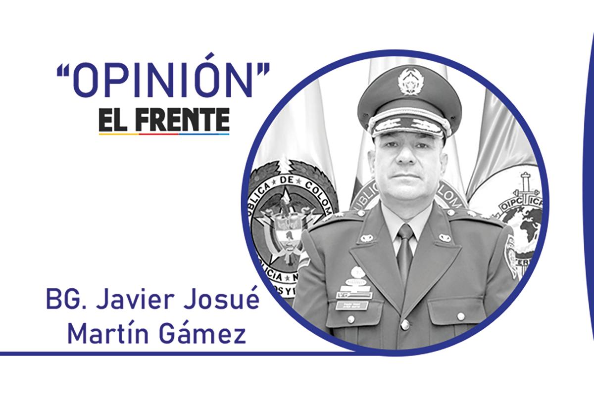 Avanzamos en la lucha frontal contra la delincuencia Por: BG. Javier Josué Martin Gámez   Opinión   EL FRENTE