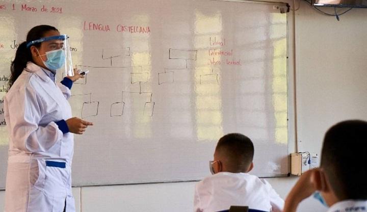 Autorizado el regreso a clases con presencialidad en colegios públicos y privados en Floridablanca | Región | Santander | EL FRENTE