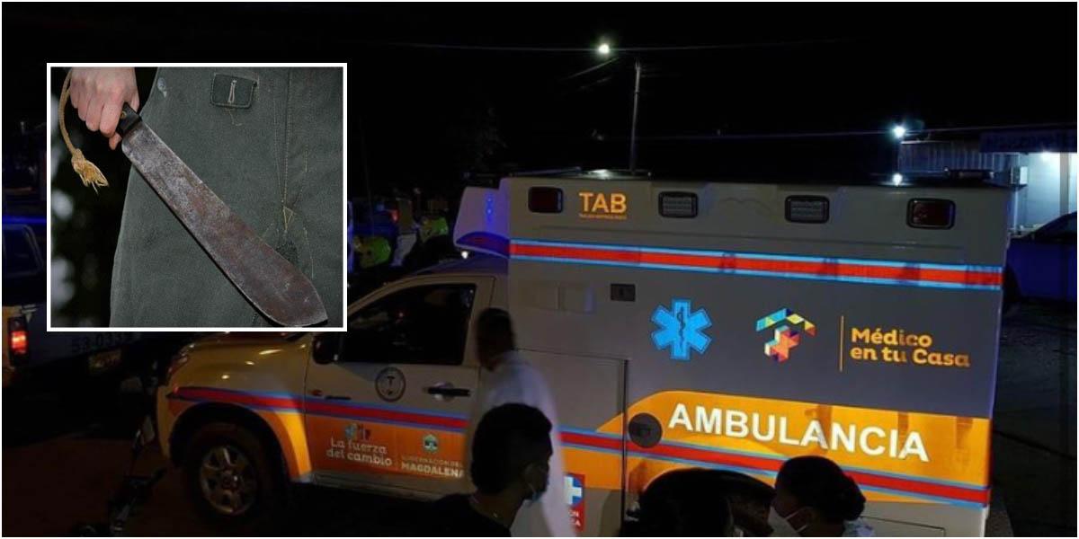 A punta de machetazos un habitante de calle logró adueñarse de una ambulancia | Nacionales | Colombia | EL FRENTE