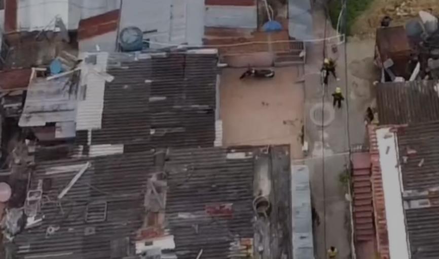 VIDEO. Desde el aire pillaron los negocios de un jíbaro en Floridablanca   EL FRENTE