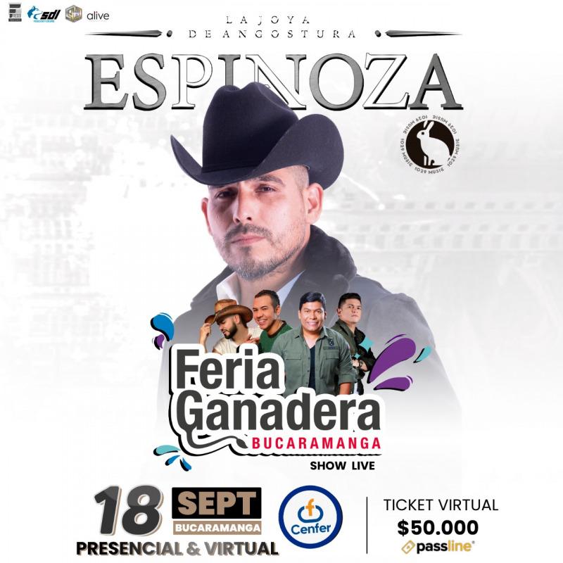 Llega el concierto de Espinoza Paz en Bucaramanga | EL FRENTE