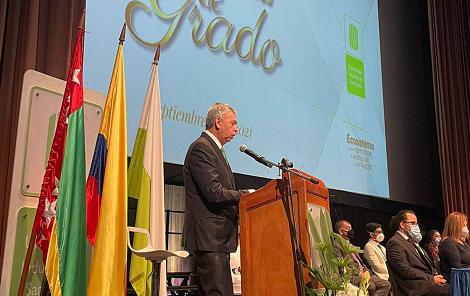 Grados presenciales en el auditorio Luis A. Calvo de la Universidad Industrial de Santander, UIS | Santander | EL FRENTE