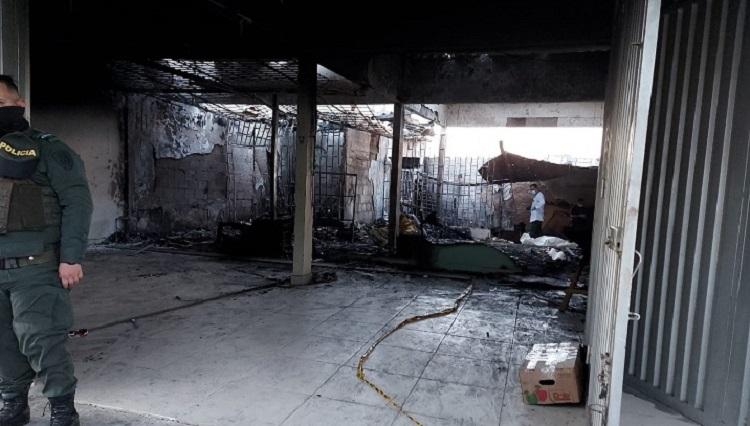 Hombre murió incinerado por intentar apagar un incendio   EL FRENTE