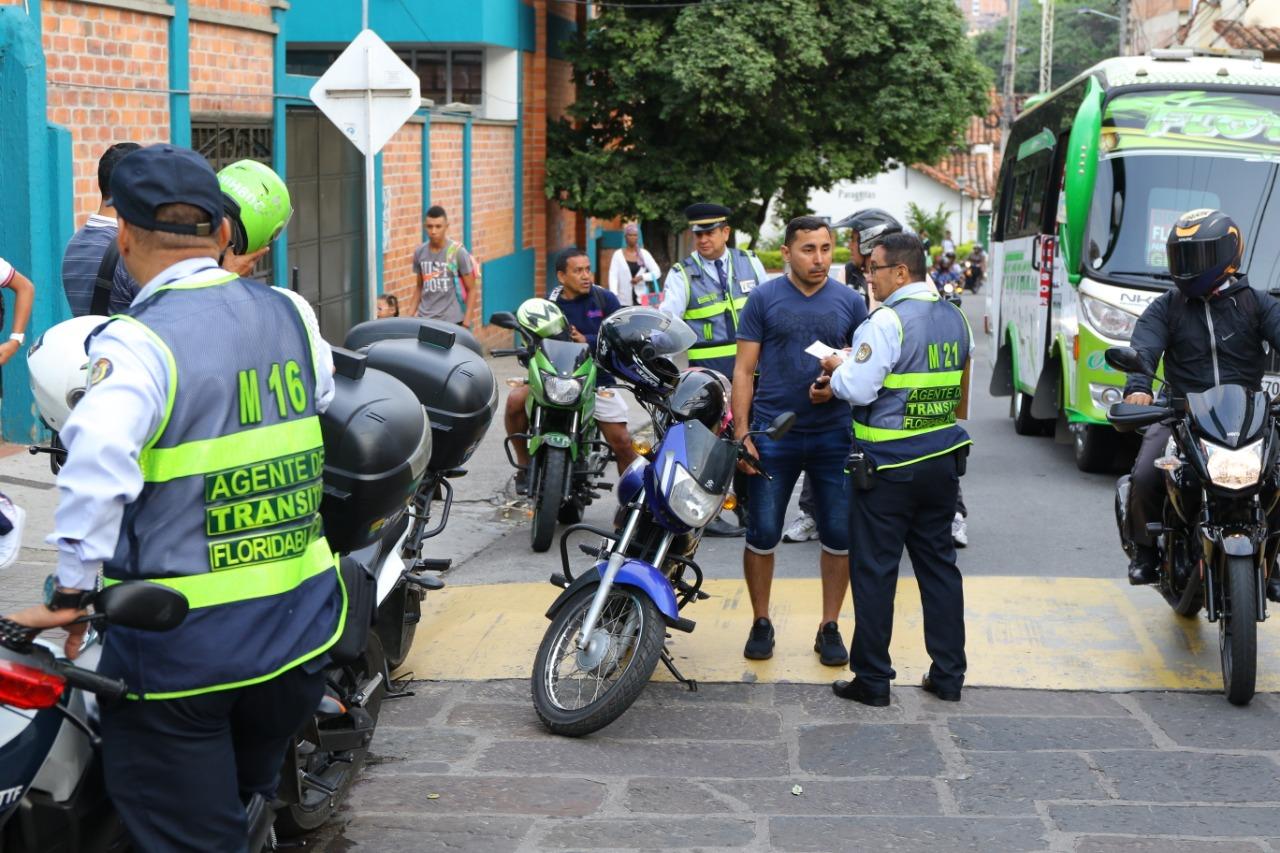 Aumentan controles de tránsito en Floridablanca  | EL FRENTE