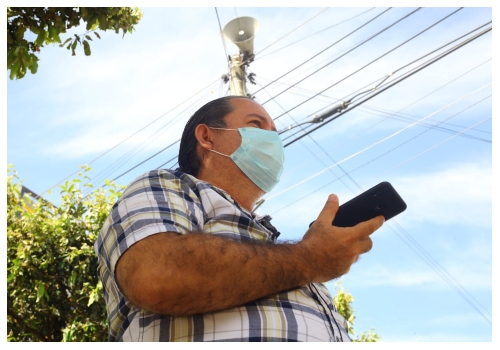 Así funciona el sistema de alarma comunitaria del barrio Diamante ll | EL FRENTE