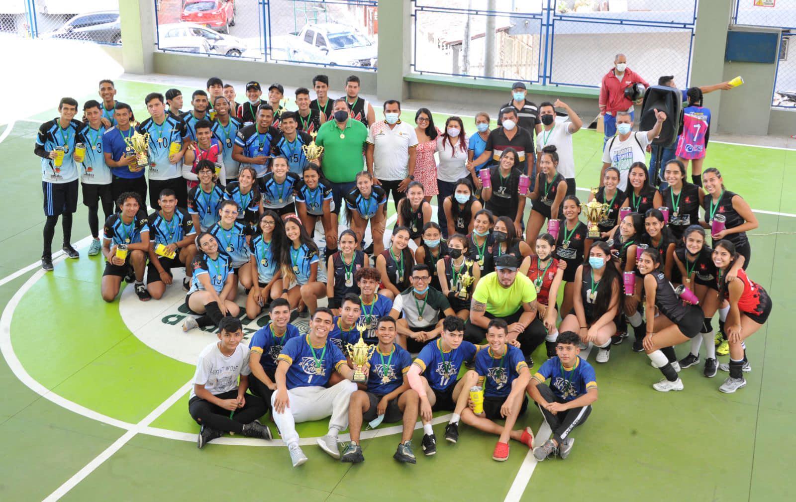 Legions Volley Club y Warriors los grandes triunfadores   Local   Deportes   EL FRENTE