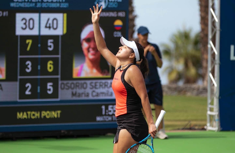 Histórica jornada para la tenista María Camila Osorio | Nacional | Deportes | EL FRENTE