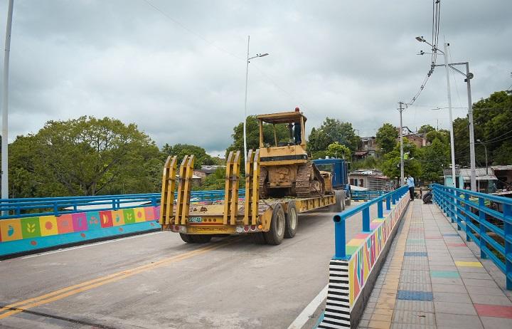 Obras para la comunidad en Barrancabermeja con la entrega del nuevo Puente Pozo Siete   Región   Santander   EL FRENTE