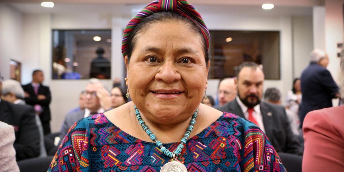 Rigoberta Menchú estará en Bucaramanga al lado del Ministro de Justicia Wilson Ruiz    Política   EL FRENTE