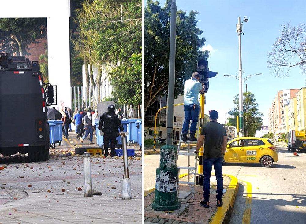 Culpan a vándalos por quiebra del sector comercial del barrio La Universidad   Política   EL FRENTE