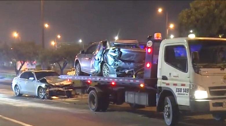 Grave accidente de tránsito fue protagonizado por miembros de la Fiscalía | Nacionales | Colombia | EL FRENTE