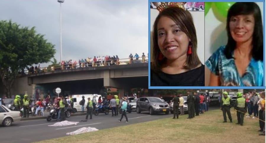 Madre e hija fallecieron cuando intentaban cruzar la vía a pocos metros de un puente peatonal | Justicia | EL FRENTE