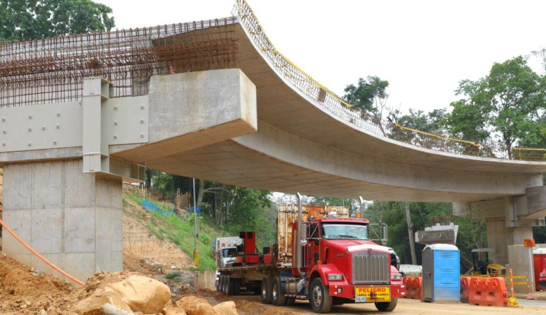Avanzan obras complementarias en el intercambiador de Fátima  | Floridablanca | Metro | EL FRENTE