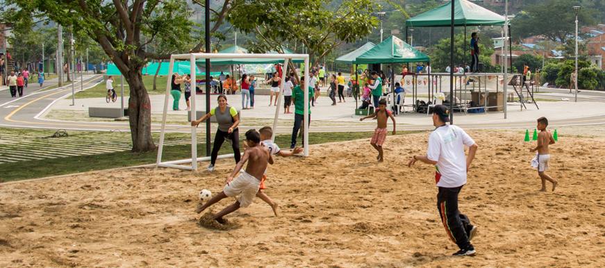 Parque lineal Rio de  Oro, toda una sensación | EL FRENTE