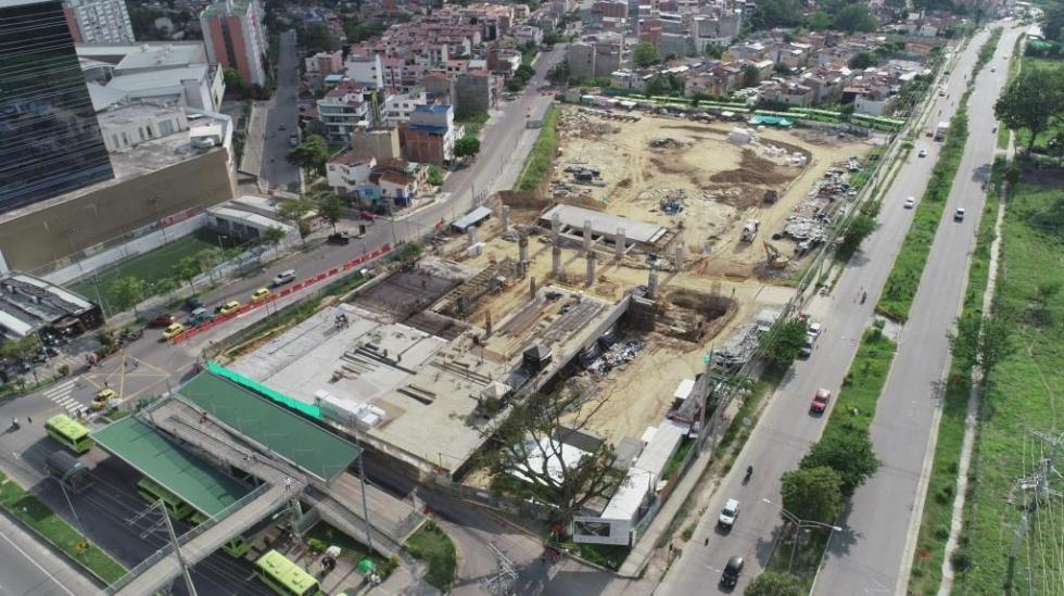 Avanzan obras del Portal de  Metrolínea en Piedecuesta    | Piedecuesta | Metro | EL FRENTE