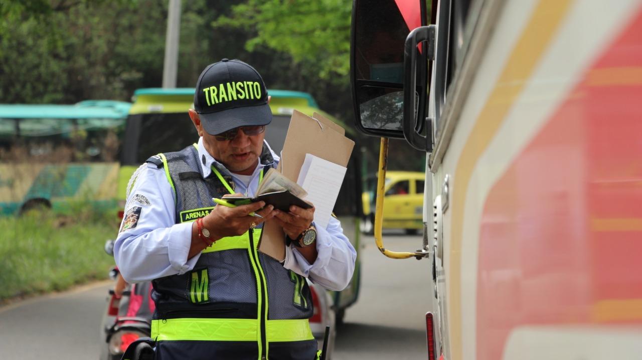 Controles al transporte  colectivo en Floridablanca | Floridablanca | Metro | EL FRENTE