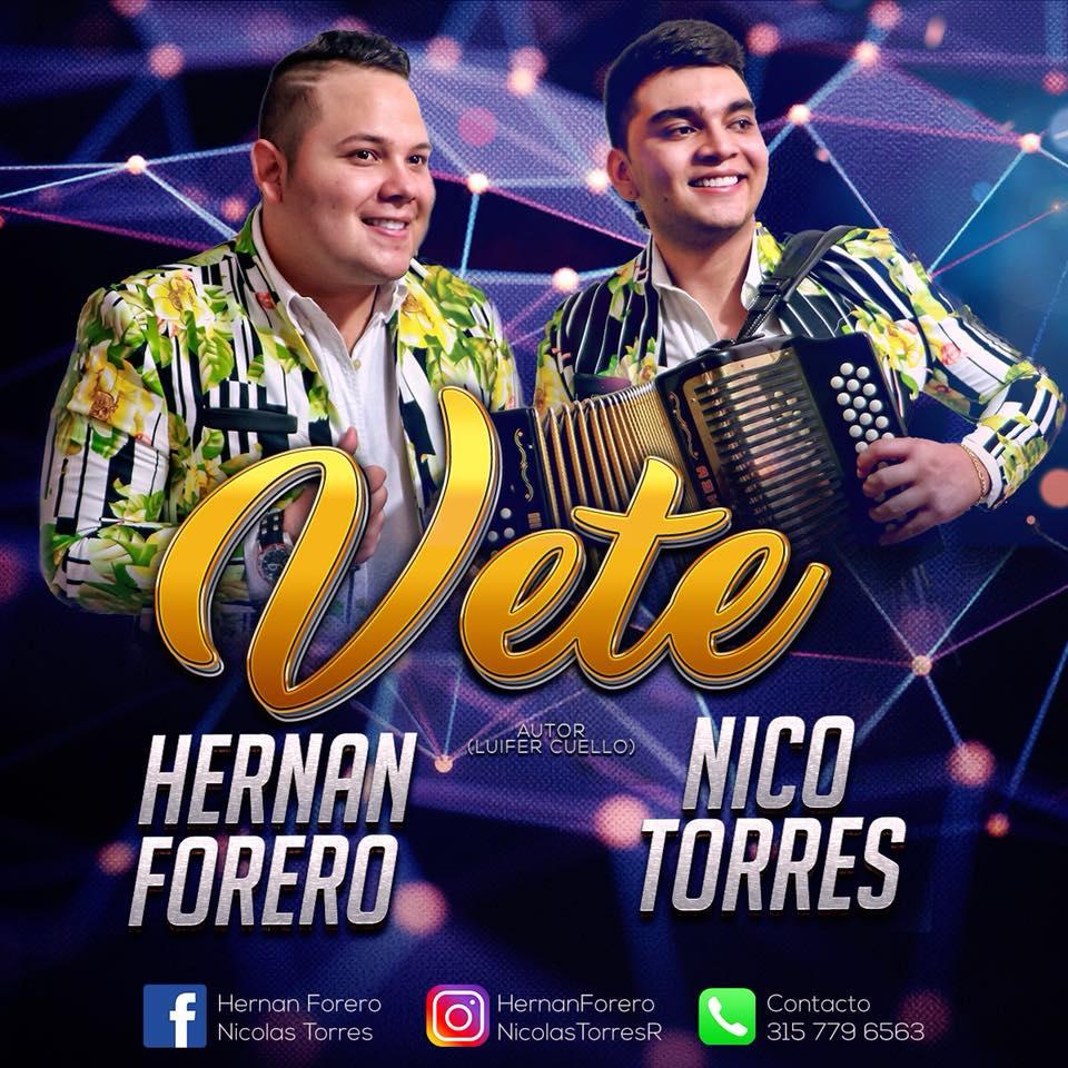 """""""Vete"""" el éxito vallenato de Hernán Forero & Nico Torres   Entretenimiento   Variedades   EL FRENTE"""
