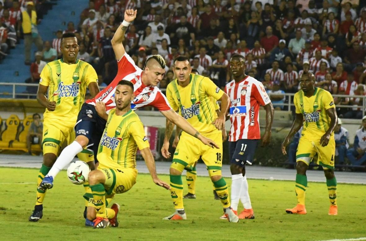 Bucaramanga empató 0-0 con Junior en Barranquilla  | EL FRENTE