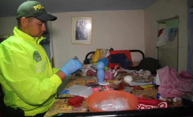 Capturadas dos personas por tráfico de estupefacientes en el barrio Bucaramanga   EL FRENTE