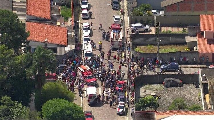 Masacre en Brasil: dos adolescentes asesinaron a siete niños y un adulto y se suicidaron   EL FRENTE
