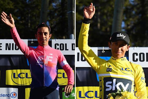 Martínez ganó la etapa y Bernal nuevo líder de la Paris-Niza | Nacional | Deportes | EL FRENTE