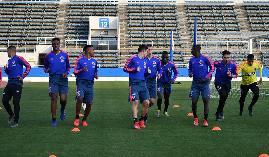 Queiroz con el grupo completo para enfrentar a Japón | Nacional | Deportes | EL FRENTE