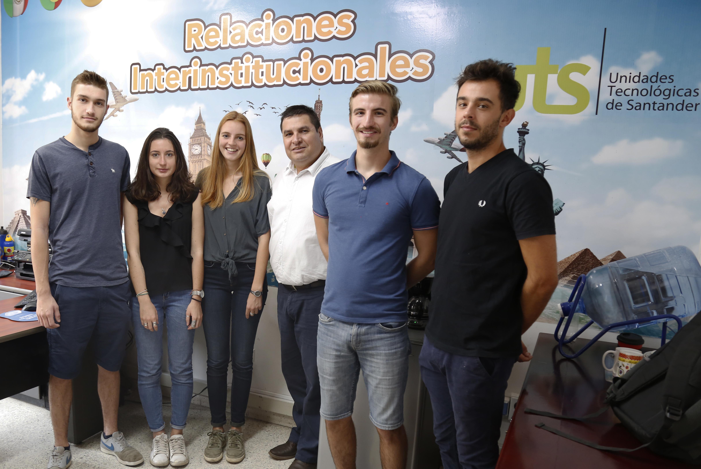 Programas mundiales. Seis estudiantes europeos de movilidad en las UTS | Variedades | EL FRENTE