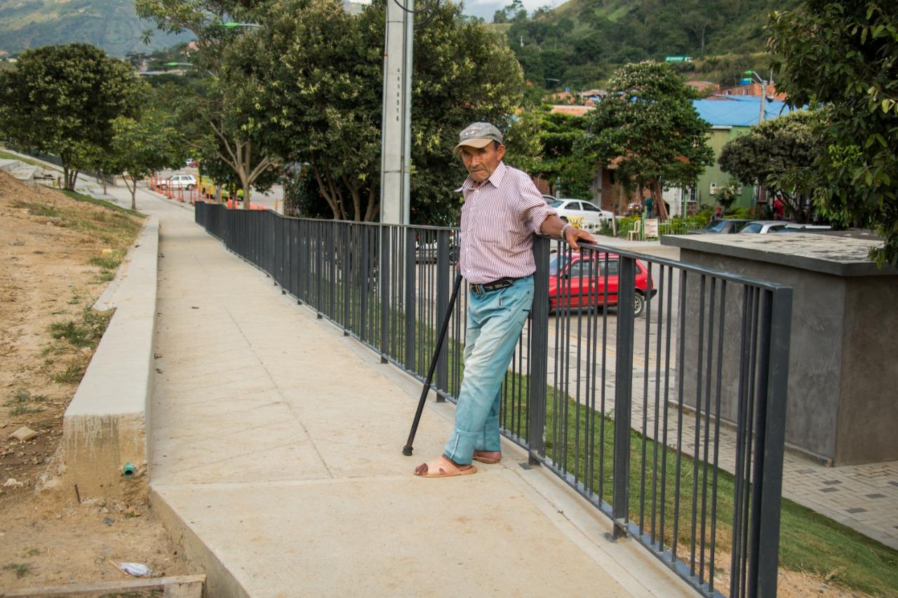 Parque Lineal Río de Oro es incluyente con la población en condición de discapacidad  | Metro | EL FRENTE
