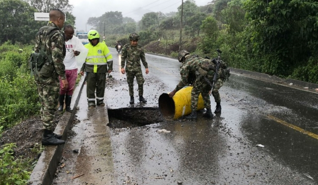 Indígenas tenían explosivos durante la minga en Cauca   Nacional   Colombia   EL FRENTE