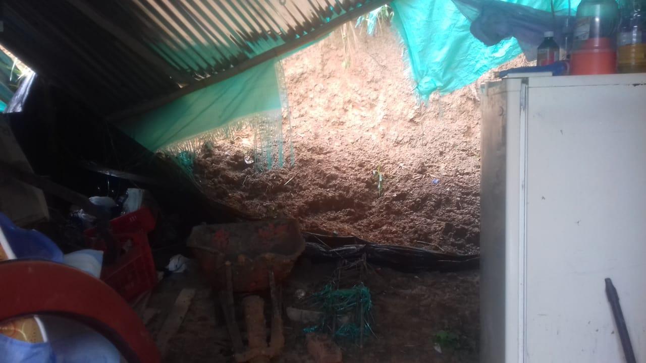Derrumbes por las fuertes lluvias en Bucaramanga  | Metro | EL FRENTE
