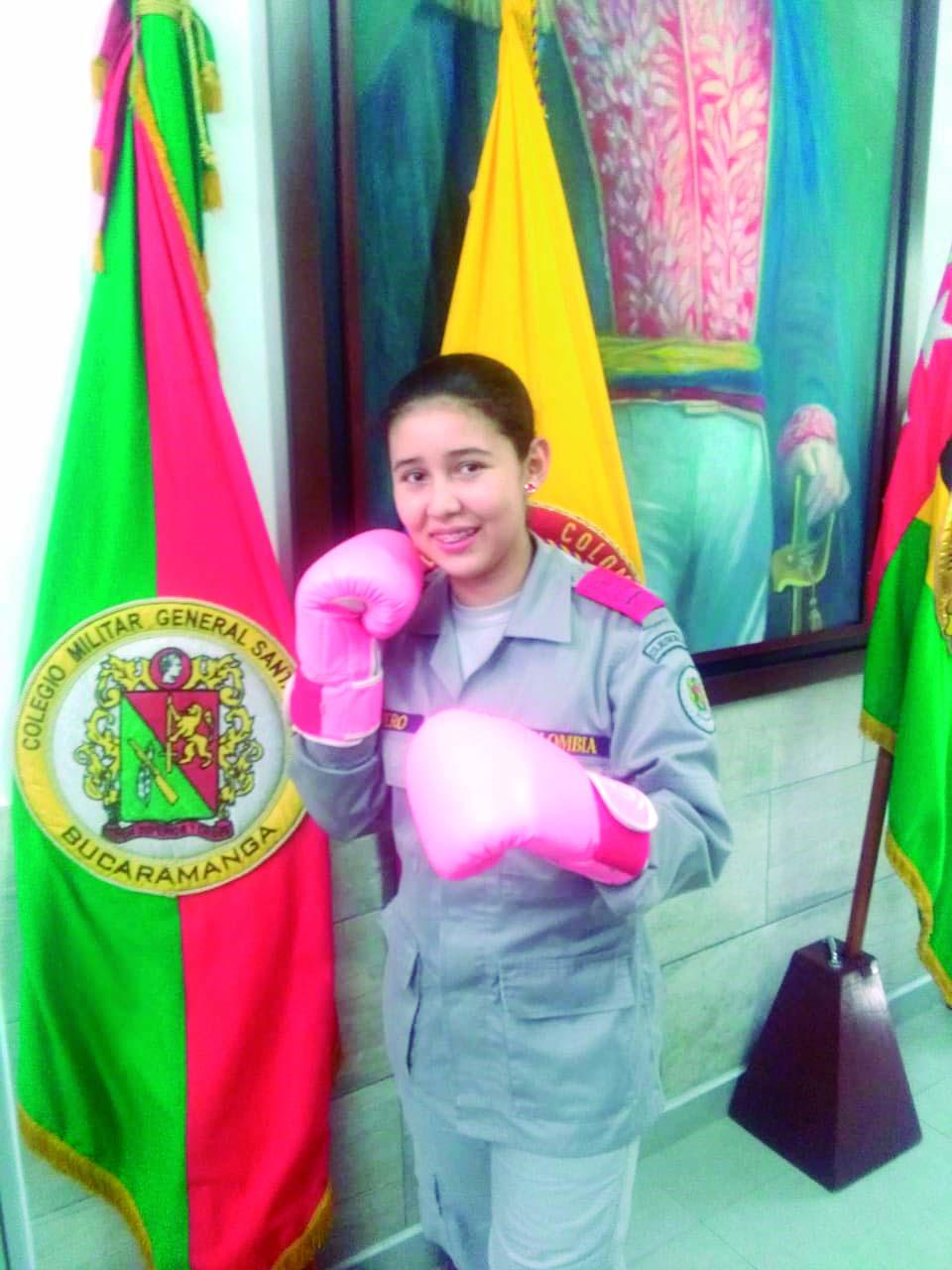 Ángela Romero, la joven Reina del boxeo colombiano | EL FRENTE