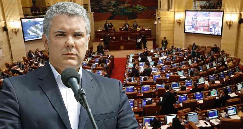 Cámara de Representantes le dijo NO a las objeciones presentadas por Duque | EL FRENTE