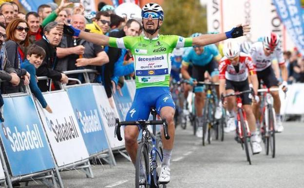 Alaphilippe ganador de la segunda etapa    EL FRENTE