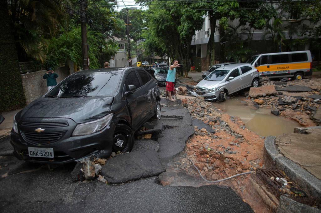 Temporal en barrios y favelas de Río de Janeiro | EL FRENTE