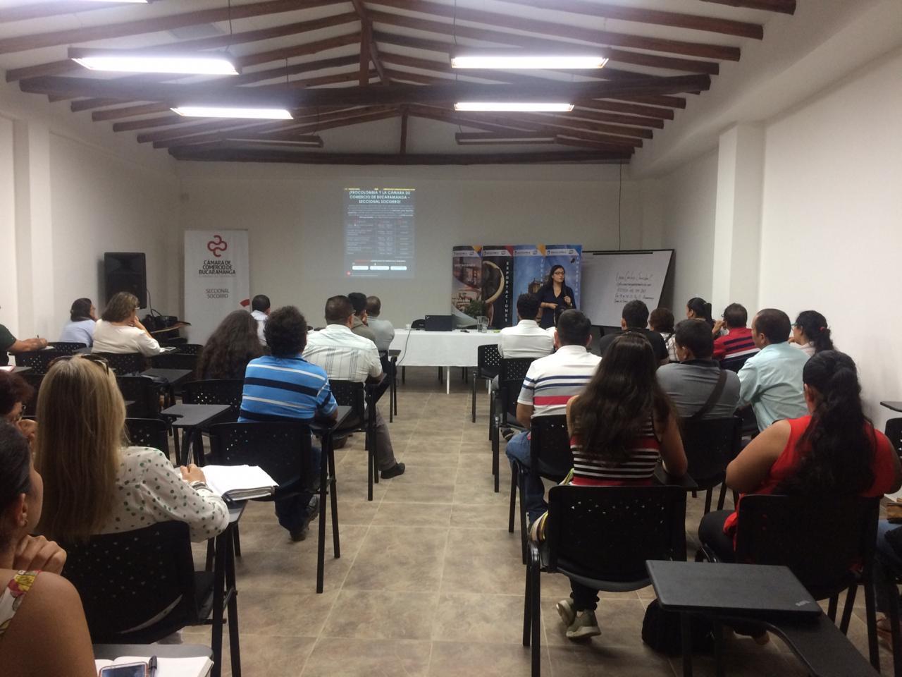 Asesorías de Cámara de Comercio de Bucaramanga. Internacionalización para empresarios de Provincia   EL FRENTE