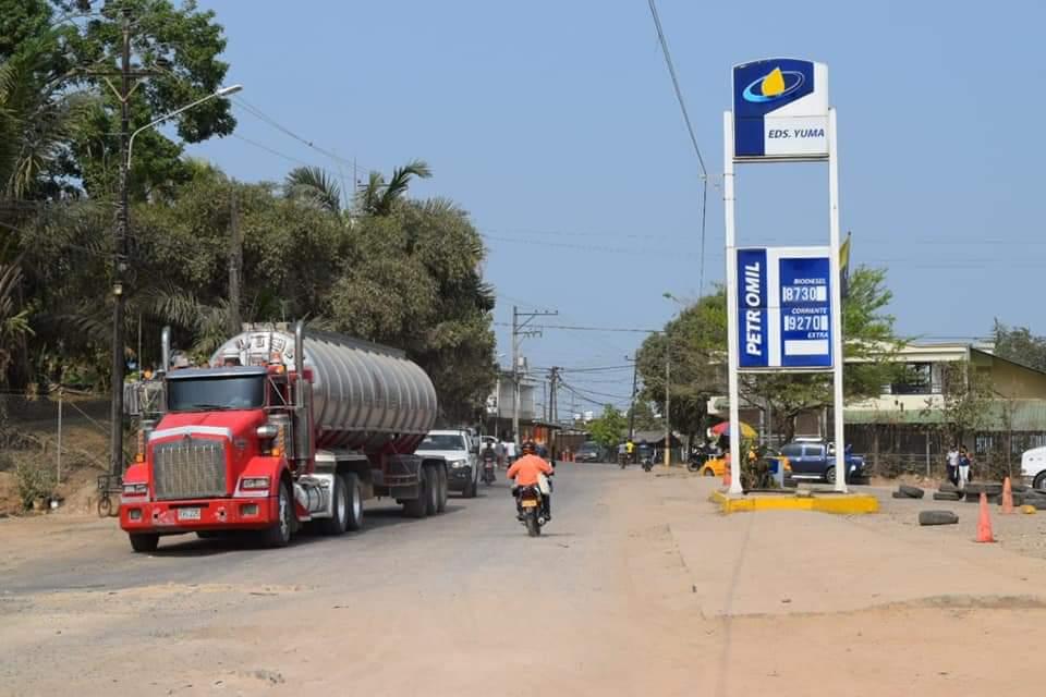 Avanzan trabajos de mejoramiento de la malla vial de Barrancabermeja | EL FRENTE