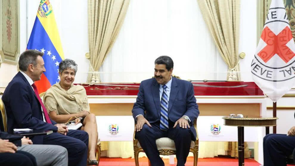 Cruz Roja confirmó acuerdo con el régimen de Maduro | EL FRENTE