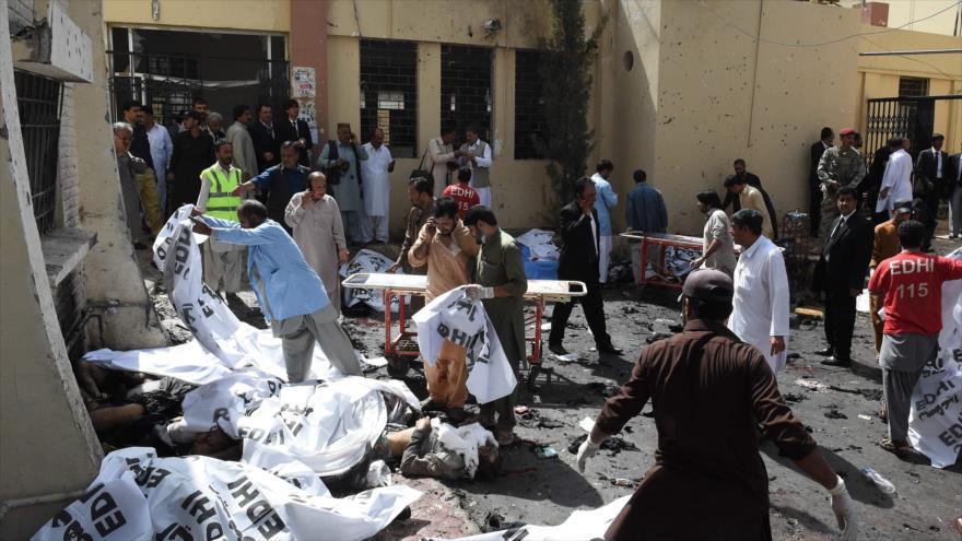 20 muertos por un explosivo en un mercado de Quetta   EL FRENTE