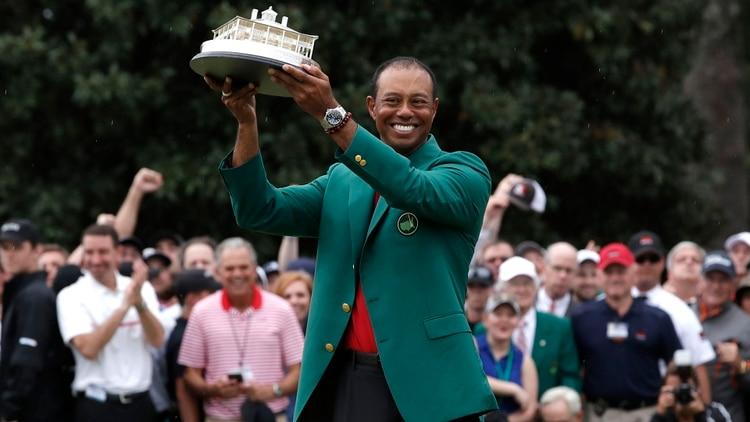 Woods ganó su primer major en 11 años e hizo referencia a su incidente del 2017 | EL FRENTE