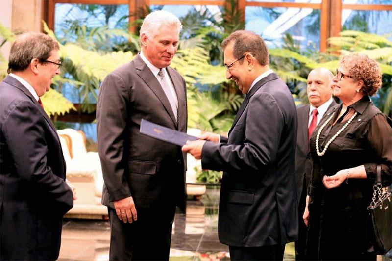 Hermano de Hugo Chávez presentó sus credenciales en Cuba | EL FRENTE