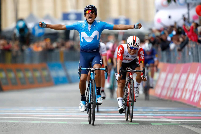 Richard Carapaz ganador de la cuarta etapa del Giro 2019 | EL FRENTE