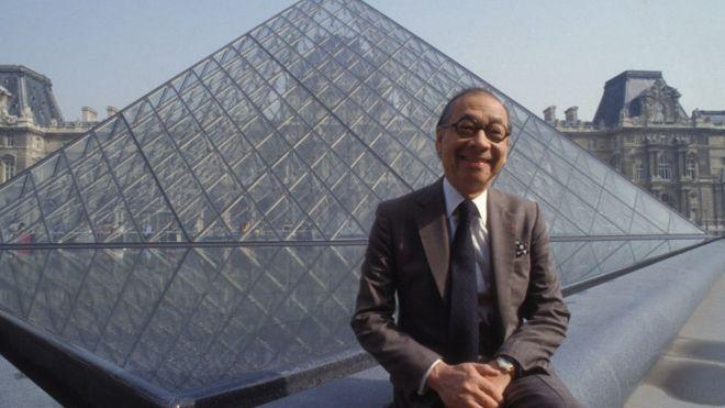 A los 102 años fallece el arquitecto que diseñó la pirámide de cristal del Louvre   Entretenimiento   Variedades   EL FRENTE