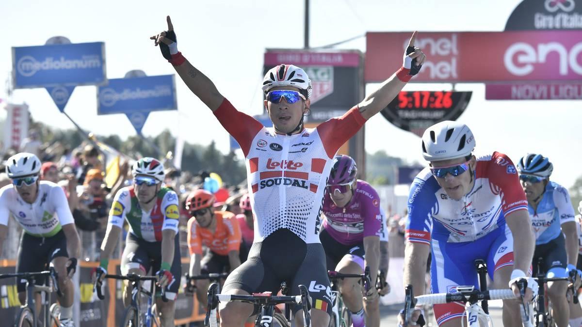 Caleb Ewan se quedó con la undécima etapa del Giro | Internacional | Deportes | EL FRENTE