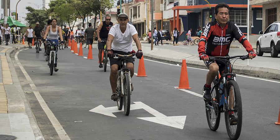Se construirán 17,3 kilómetros de ciclorutas en Bucaramanga | Metro | EL FRENTE