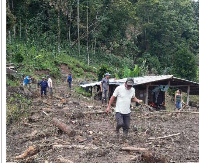 Cerca de mil personas afectadas por deslizamientos en Santander   Región   Santander   EL FRENTE