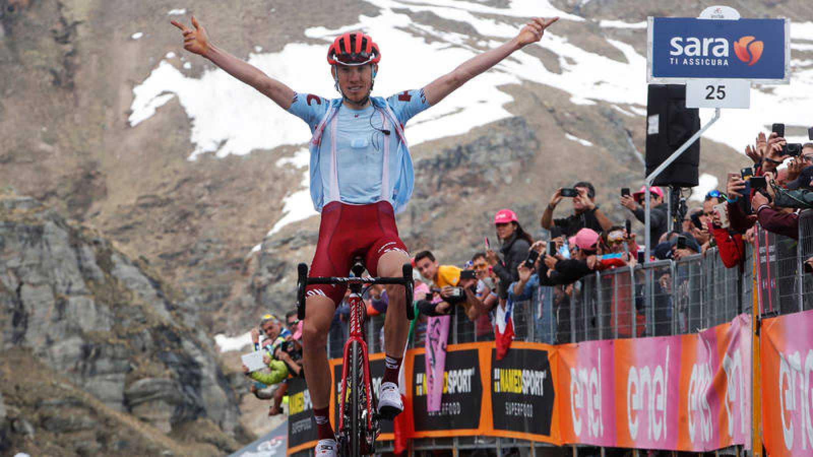 Ruso Ilnur Zakarin gana etapa de alta montaña en el Giro  | Internacional | Deportes | EL FRENTE